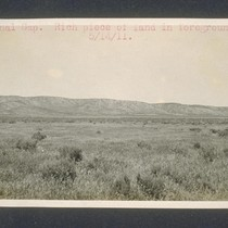 Avenal Gap. Rich piece of land in foreground. May 14, 1911