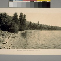 Beach in front of Donner Lake Sub-division No.1 looking East
