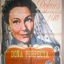 Doña Perfecta, Film Poster for