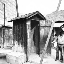 Community outhouse