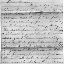 April 18, 1889 Letter from Inks to Cousin