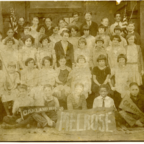 Class photograph Melrose School, Oakland, California