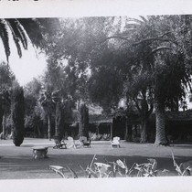 Lawn outside of the Adobe Lodge
