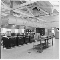Camp Matthews, Mess Hall, Kitchen, (interior), Building No.210