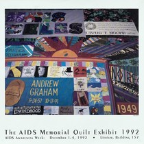 """AIDS Memorial Quilt Exhibit"""