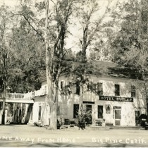 Big Pine, California. Hotel Butler