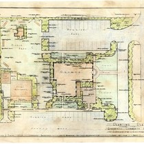Planting plan for the Roosevelt Community Church, Lancaster, CA