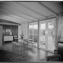 [Rancho Rinconada model houses: Frankl model]. Dining room