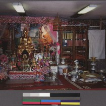 Interior of Glory Buddhist Temple, Lowell, Massachusetts