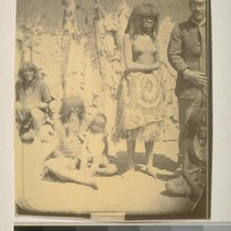 Indian girl (Topsy and captain's cook), Fort Mojave