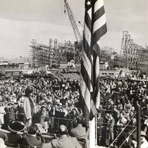 Marian Anderson entertains Marinship workers and guests, Marin County, February 19, 1943 ...