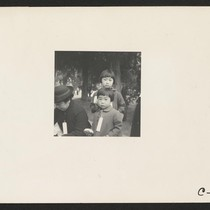 Hayward, Calif.--Two children of the Mochida family who, with their parents, are ...