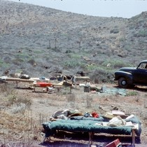 A camp at Tampico, Baja California peninsula