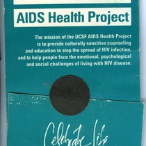 UCSF AIDS Health Project condom
