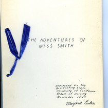 The Adventures of Miss Smith comic book cover