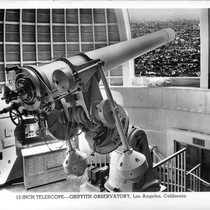 12-Inch Telescope -Griffith Observatory, Los Angeles, California