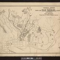 Coleman's addition to the town of San Rafael, Marin Co., California: map ...