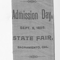 Admission Day Ribbon