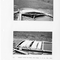 Conduit covers for test, with forms, Los Angeles Aqueduct