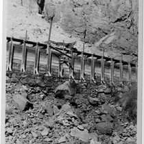 Adams auxillary flume, Inyo County (Image 60)