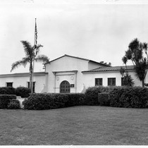 Arcadia Public Library, Corner of First and Wheeler streets, circa 1955