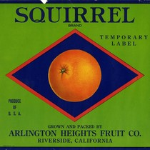 Arlington Heights Fruit Company, Squirrel Brand