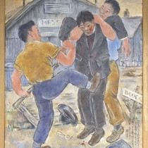 Reverend Yamazaki Was Beaten in Camp Jerome