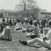 Activity week outdoor concert, Campbell campus