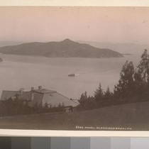 Angel Island from Saucelito [i.e. Sausalito].--6683