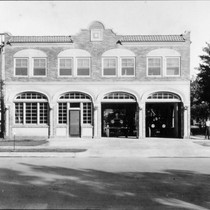 1920s Fire station, Dinuba, Calif