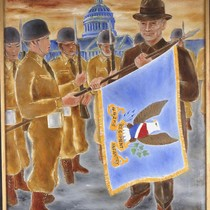 Documentary-Nisei Soldiers Returning the Flag of 442nd to the President