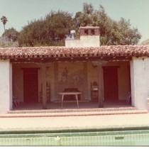 Adamson House bathhouse, 1974
