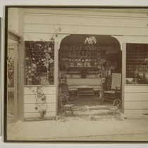 [Photograph gallery at residence of Isaiah West Taber. Photograph by Isaiah West ...