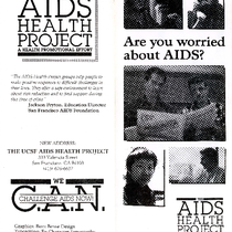 Are You Worried About AIDS brochure