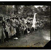 Among the Indians, California [White Deer Skin Dance - Hoopa #6/unknown]