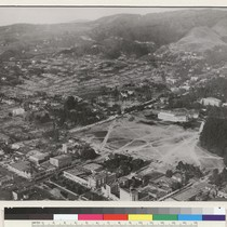Berkeley campus. On September 17, 1923, a grass fire, driven by the ...