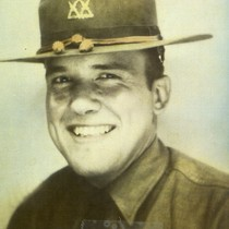 Delmer Oatman in Army