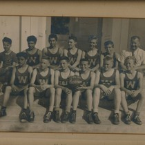 17th Street School Basketball Team, Westminster, 1946