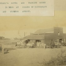 Crandall and Rice dryer and packing house