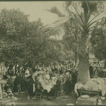 Group Portrait of a Social Gathering