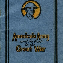 Cover of America's Army and its Part in the Great War booklet