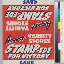August Variety Stores Stampede For Victory: Save the easy way: Buy War ...