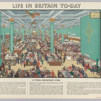 Life in Britain To-day [Shopping scene]