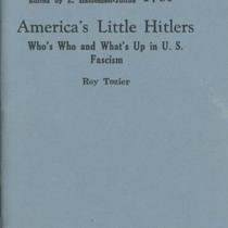 America's Little Hitlers : Who's Who and What's Up in U.S. Fascism