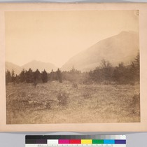[Approach to the boundary pass, Rocky Mountains - middle portion of three-part ...