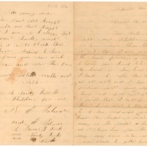 August 13, 1888 Letter Dear Brother and Sister