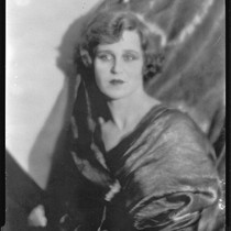 Actress June Marlowe (possibly) in evening attire, circa 1927-1933