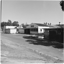 Camp Matthews, Mess Hall, (exterior rear), Building No.249