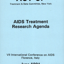 7th International Conference on AIDS - Florence, Italy - 1991 ACT-UP AIDS ...