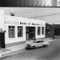 Bank of America, San Mateo Avenue, 1940s